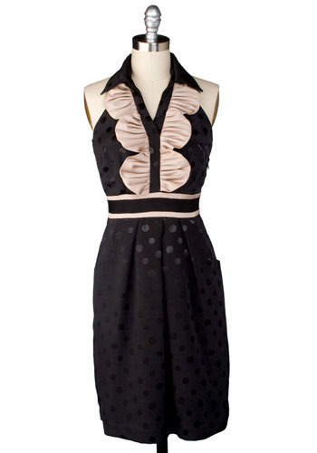 *** French Silk Chocolate Dress - Mid-length