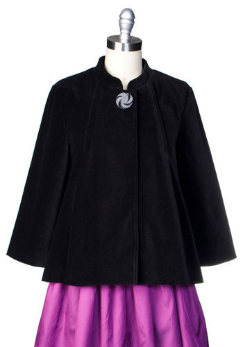 Velvet Underground Jacket by Tulle Clothing - Mid-length