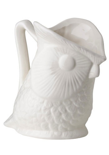 Pour Little Owl Pitcher