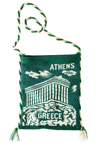 Vintage Athens Tote