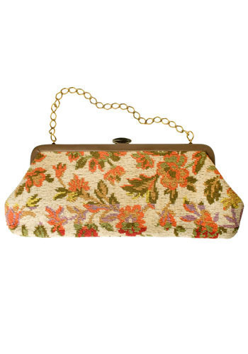 Vintage Tapestry Carpet Purse