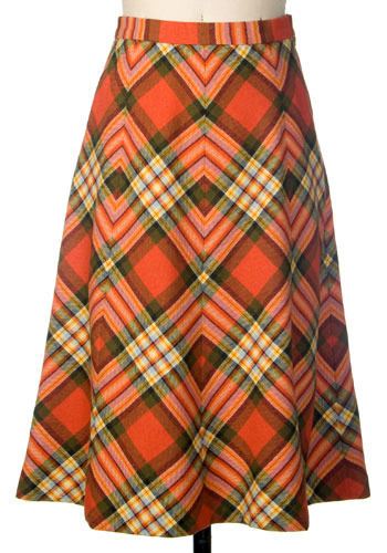 Vintage Scottish Lass Skirt