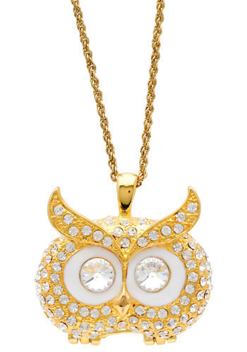 Up Owl Night Locket