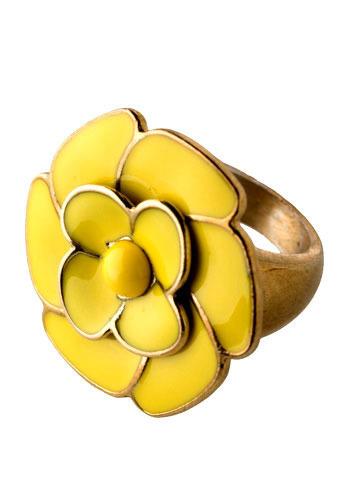 Vintage Dahlberg Daisy Ring