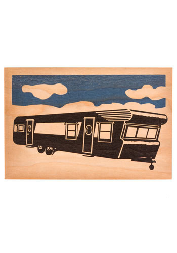 Retro RV Postcard