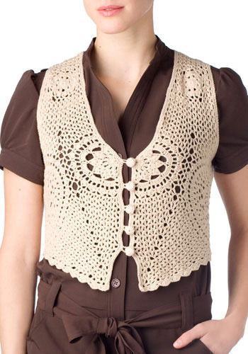 Spinning Jenny Vest by BB Dakota - Short