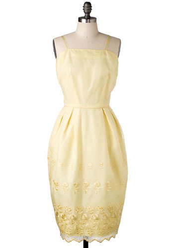 Vintage Lemonade Gown