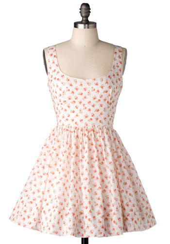 Thumbelina Dress in Blush by BB Dakota - Short
