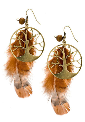 Flora And Fauna Earrings