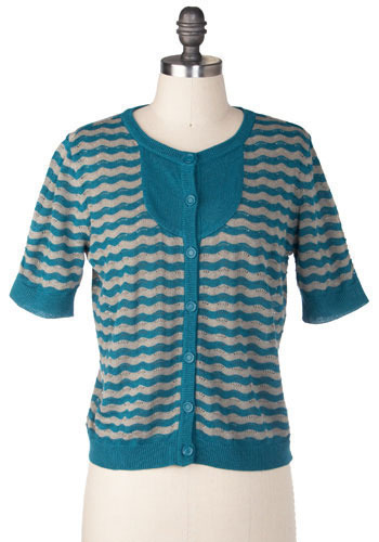 Dream Sequence Cardi in Wayne by Tulle Clothing - Short
