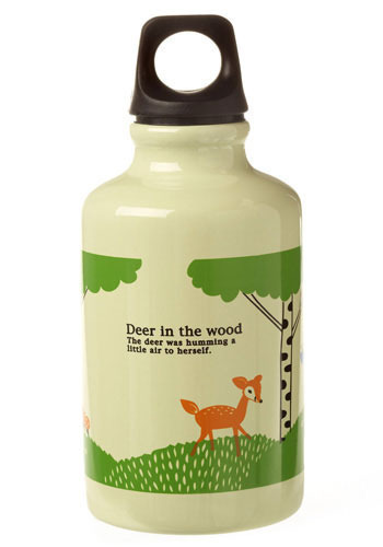 Fawn in the Forest Bottle by Shinzi Katoh