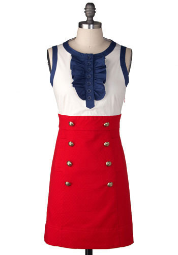 Upper East Side Dress in Red by BB Dakota - Short