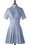 Song Sung Blue Dress - Mid-length