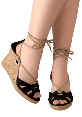 Know the Ropes Espadrilles - Wedge