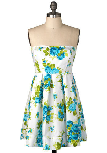 Everything Nice Dress in Sugar - Short