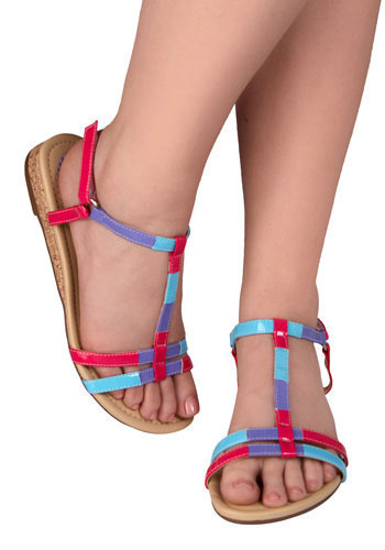 Sidewalk Chalk Sandals