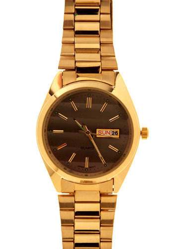 Dad Knows Best Watch - Silver, Gold, Work, Casual