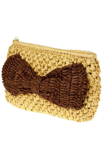 Straw-Bow-y Fields Bag