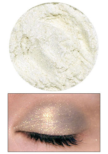 Eyedust in Nymph by Lime Crime Makeup - White, Gold