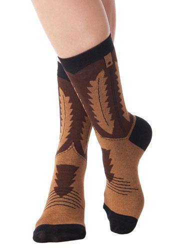 Cowgirl Boot Socks
