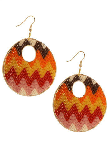Roller Disco Earrings