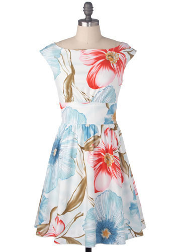South Pacific Dress - Mid-length