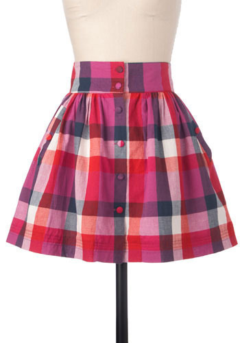 Gone Picnicking Skirt - Short