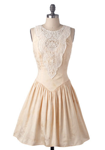 Vintage Peachy Keen Dress