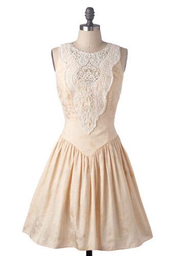 Vintage Peachy Keen Dress