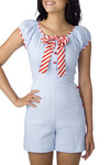 *** Sailor Suit Romper by Stop Staring! - Long