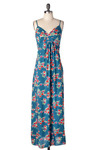 *** Rose Water Maxi Dress - Long