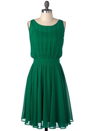 فساتين خضراء Green Dresses 2012