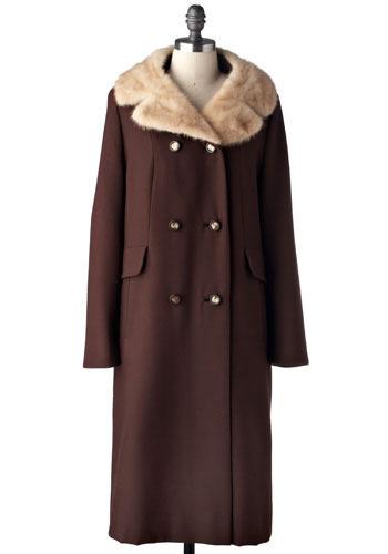 Vintage Factory Fur Coat