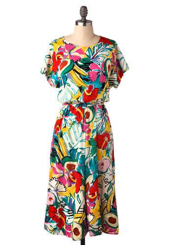 Vintage Chiquita Dress