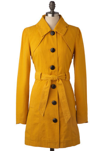 The Goldie Trench by Tulle Clothing - Long