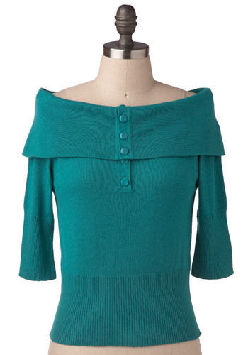 Show and Teal Shirt by Tulle Clothing - Short