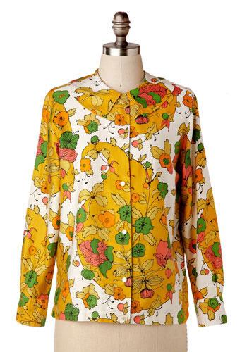vintage chelsea blouse mod retro vintage vintage clothes