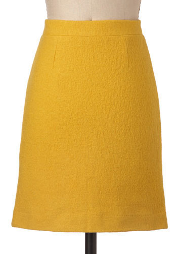 Saffron Sophisticate Skirt by BB Dakota - Short