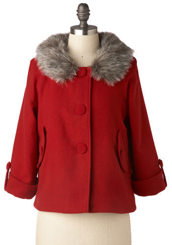 Anna Von Diederitz Coat by BB Dakota - Mid-length