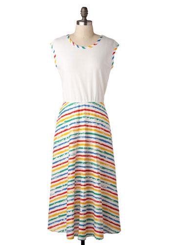 Vintage Crayon Coloring Dress