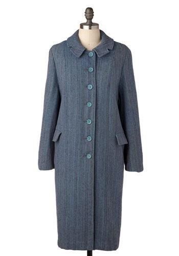 Vintage Blue Herring Coat
