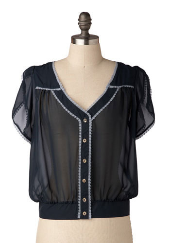 Gibson Girl Blouse by Nick & Mo - Short