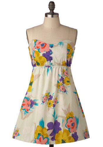 Yellow-ha Dress - Short