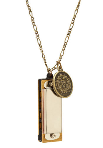 One Woman Band Necklace - Gold
