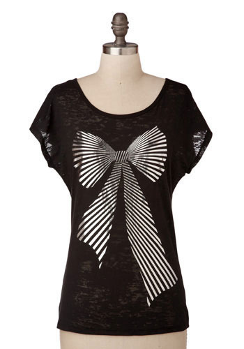 The Bow-ie Tee - Mid-length