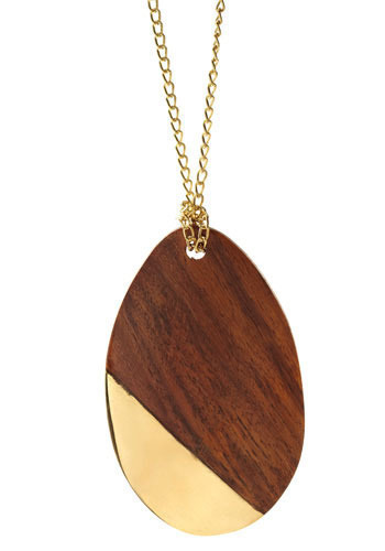 Wood You Cry For Me Necklace
