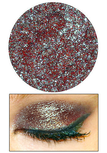 Eyedust in Dragon Scales by Lime Crime Makeup - Red, Multi