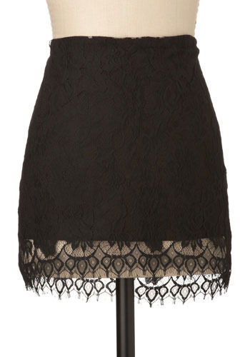 Justify My Lace Skirt by BB Dakota - Short