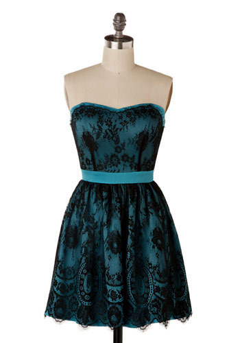 Related Keywords & Suggestions for Teal And Black Lace Dress