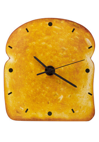 Time for Toast Clock